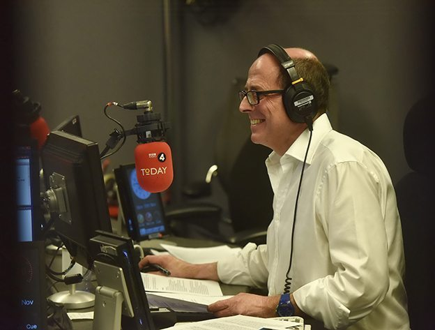 Programme Name: BBC Radio 4 - The Today Programme - TX: n/a - Episode: n/a (No. n/a) - Picture Shows:  Nick Robinson - (C) BBC - Photographer: Jeff Overs