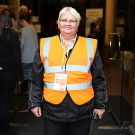 Our Chief Steward Julie - one of our prized volunteers